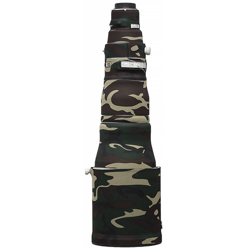 LensCoat Lens Cover for the Canon 600mm f/4 IS III Lens (Forest Green Camo)