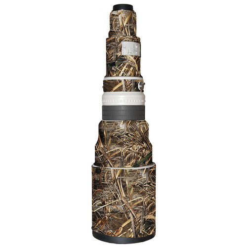LensCoat Lens Cover for Canon 600mm f/4 Non IS Lens (Realtree Max5)