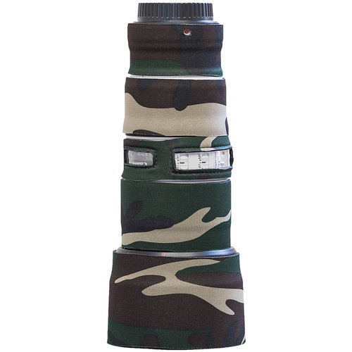 LensCoat LensCoat Lens Cover for the Canon 70-200mm f/4 IS II Lens (Forest Green Camo)