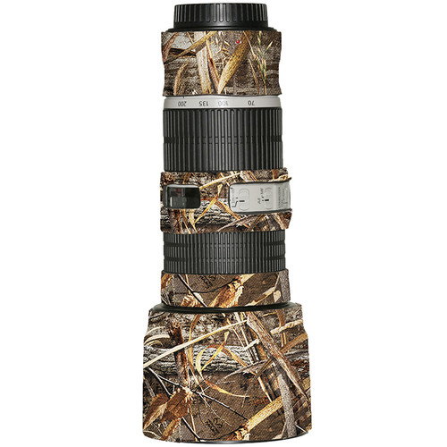 LensCoat Lens Cover for the Canon 70-200mm f/4 IS Lens (Realtree Max5 HD)