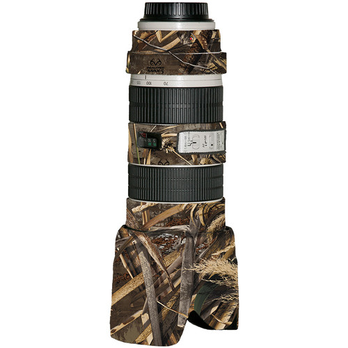 LensCoat Lens Cover for the Canon 70-200mm f/2.8 IS Lens (Realtree Max5)