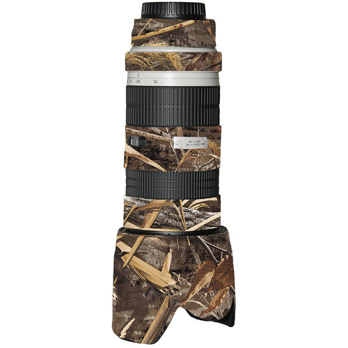 LensCoat Lens Cover for Canon 70-200mm f/2.8 Non-IS Lens (Realtree Max5)