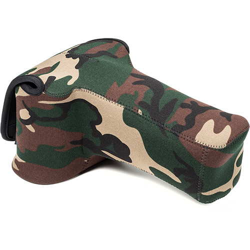 LensCoat BodyBag Pro Sport Camera Case (Forest Green Camo)