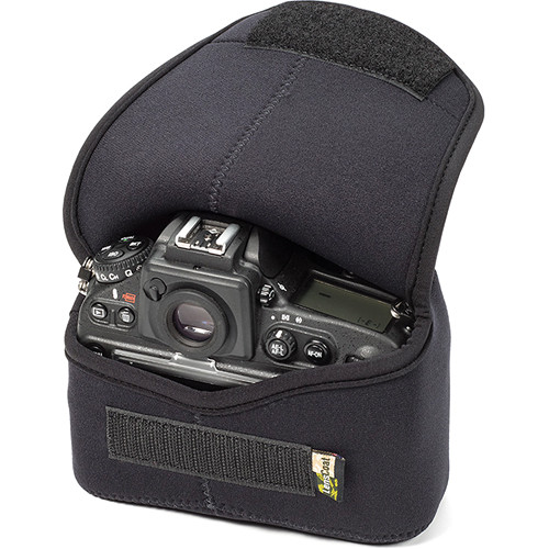 LensCoat BodyBag Plus DSLR Body Case for Nikon D800, D810 (Black)