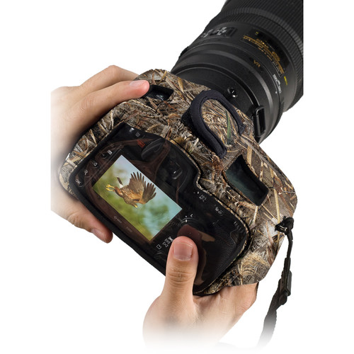 LensCoat BodyGuard CB Clear Back Camera Case (Realtree MAX-5)