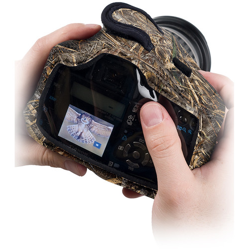 LensCoat BodyGuard Compact Clear Back Case (Realtree MAX-5)