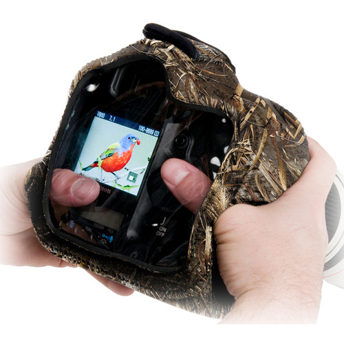 LensCoat BodyGuard Pro CB Clear Back Camera Cover (Realtree MAX-5)
