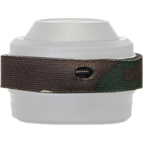 LensCoat Telephoto Lens Cover for Fuji XF 1.4x Teleconverter (Forest Green Camo)