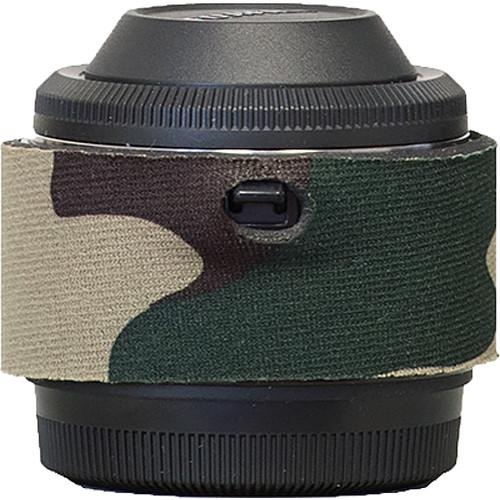 LensCoat Lens Cover for Fuji XF 2x Teleconverter (Forest Green Camo)