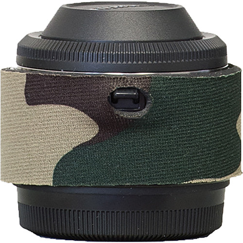 LensCoat Lens Cover for Fuji XF 2x Teleconverter (Forest Green Camo)