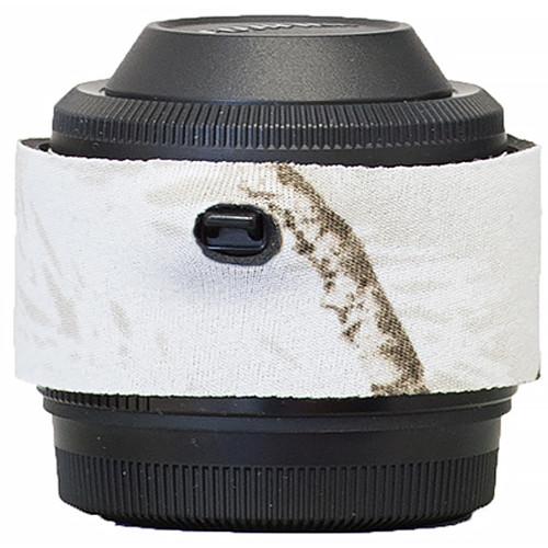 LensCoat Lens Cover for Fuji XF 2x TC WR Teleconverter (Realtree AP Snow)