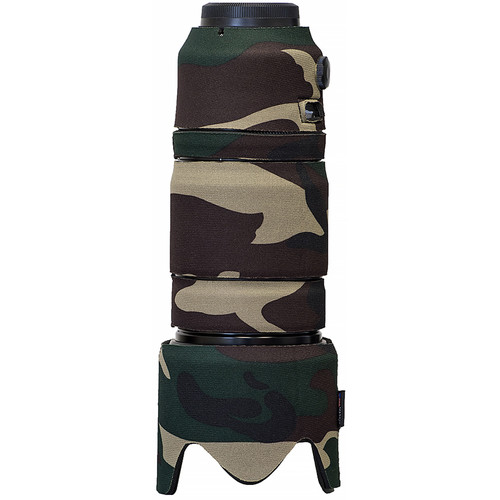 LensCoat Lens Cover for Fuji XF 50-140mm f/2.8 R LM OIS WR (Forest Green Camo)