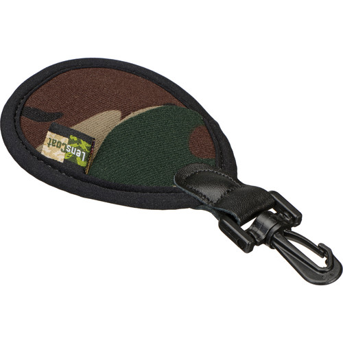 LensCoat FilterPouch 2 (58mm, Forest Green Camo)