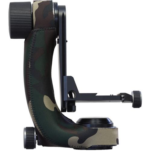 LensCoat Gitzo Gimbal Fluid Head Cover (Forest Green Camo)