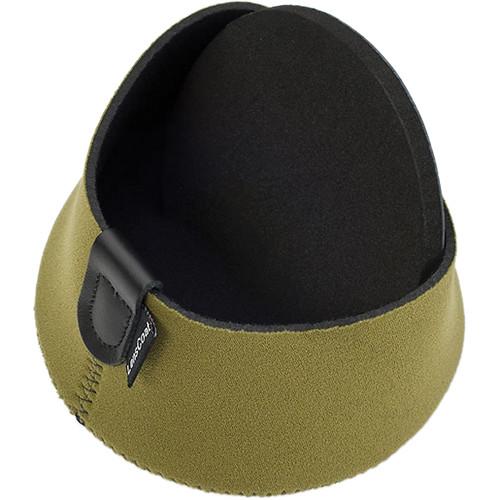 LensCoat Hoodie Lens Hood Cover (2X-Large, Green)
