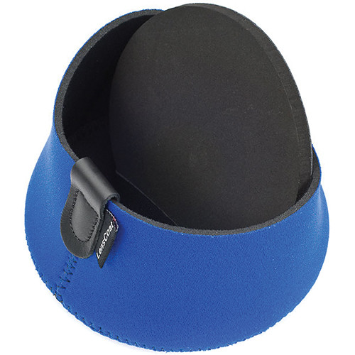 LensCoat Hoodie Lens Hood Cover (Medium, Blue)