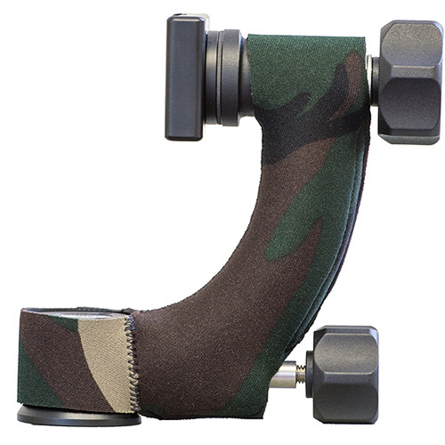 LensCoat Induro GHB1 Gimbal Head Cover (Forest Green Camo)