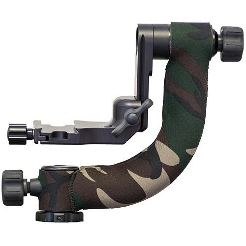 LensCoat Jobu Heavy-Duty Mark IV DMG-HD4 Gimbal Head Cover (Forest Green Camo)
