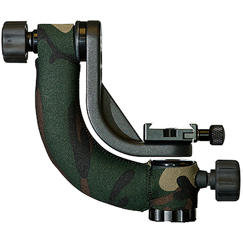 LensCoat Cover for Jobu BWG-J3K Jr. 3 Gimbal Head (Forest Green Camo)
