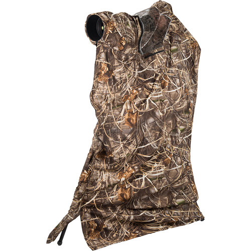 LensCoat LensHide Water-Repellent Tall Photo Blind (Realtree Max4)