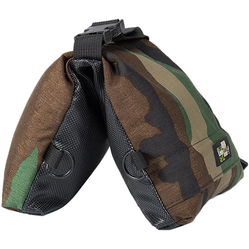 LensCoat LensSack Junior Beanbag Camera Support (Forest Green Camo)