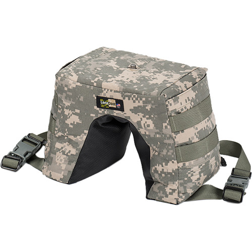 LensCoat LensSack Pro Jr Beanbag Support (Digital Camo)