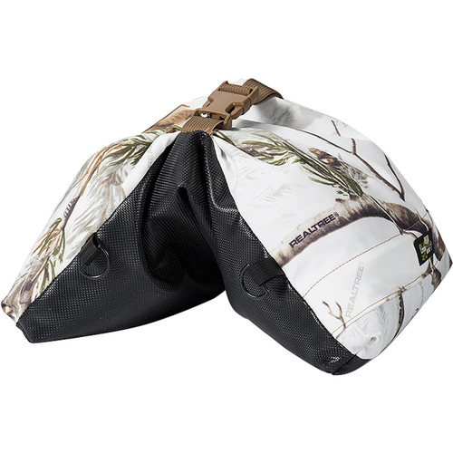 LensCoat LensSack Beanbag Camera Support (Realtree AP Snow)
