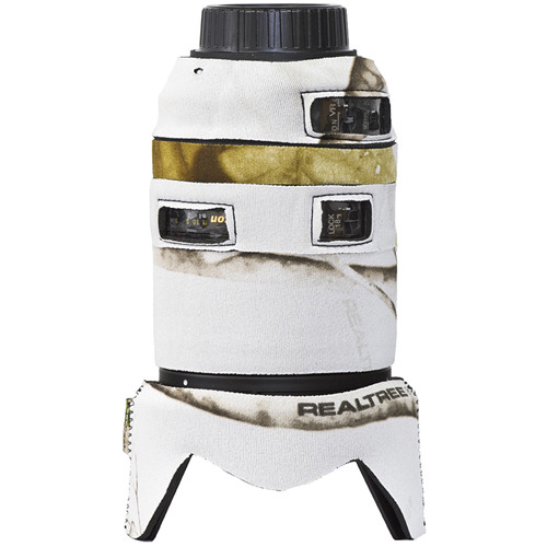 LensCoat Lens Cover for the Nikon 18-300mm f/3.5-5.6G ED VR (Realtree AP Snow)