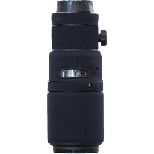 LensCoat Lens Cover for the Nikon 200mm f/4 AF-D Micro IF-ED Lens (Black)