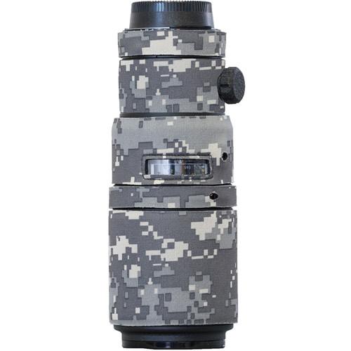 LensCoat Lens Cover for the Nikon 200mm f/4 AF-D Micro IF-ED Lens (Digital Camo)