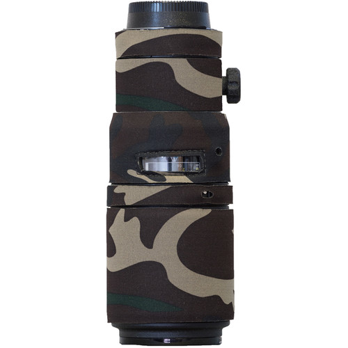 LensCoat LensCoat for the Nikon 200 f4 AF-D Micro IF-ED (Forest Green Camo)