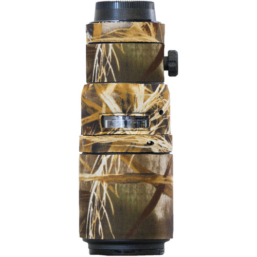 LensCoat Lens Cover for the Nikon 200mm f/4 AF-D Micro IF-ED Lens (Realtree Max5)