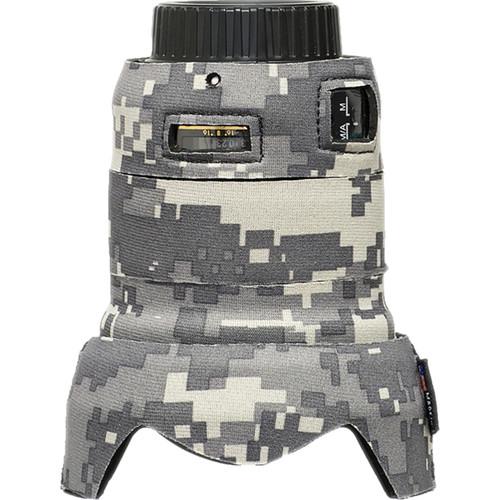 LensCoat Telephoto Lens Cover for Nikon 24mm f/1.8G ED AF-S Wide Angle Lens (Digital Camo)