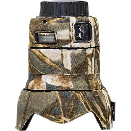 LensCoat Lens Cover for the Nikon 24mm f/1.8G ED AF-S Lens (Realtree Max4)