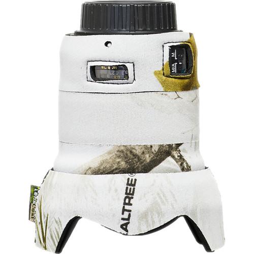 LensCoat Telephoto Lens Cover for Nikon 24mm f/1.8G ED AF-S Wide Angle Lens (Realtree AP Snow)