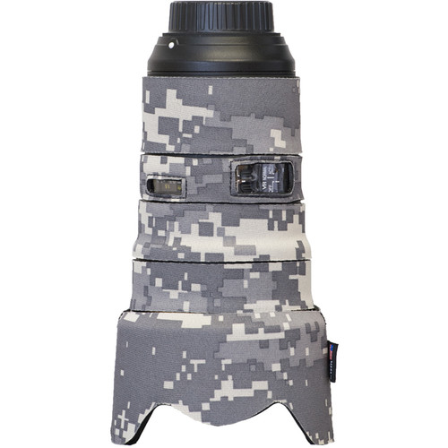 LensCoat Lens Cover for Nikon 24-70mm f/2.8E VR (Digital Camo)