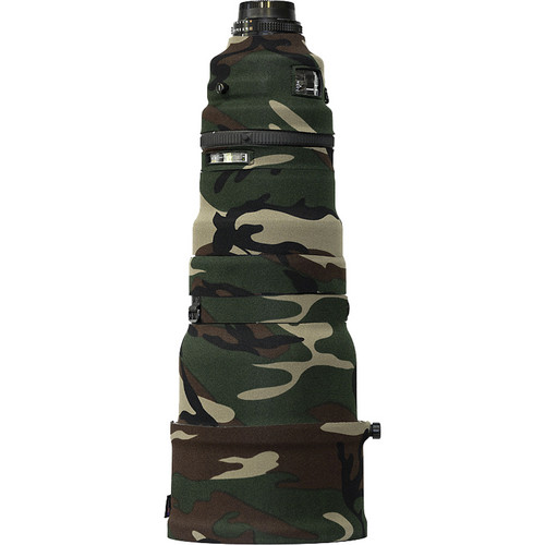 LensCoat Lens Cover for Nikon 400 AF I Telephoto Lens (Forest Green Camo)