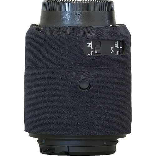 LensCoat Lens Cover for Nikon 55 - 200mm f/4-5.6 ED VR II Lens (Black)