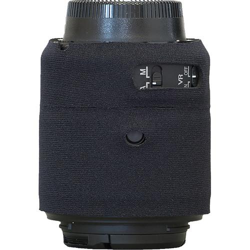 LensCoat Lens Cover for Nikon 55 - 200mm f/4-5.6 ED VR II Lens (Black)