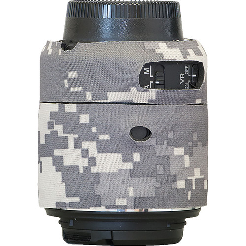 LensCoat Lens Cover for Nikon 55 - 200mm f/4-5.6 ED VR II Lens (Digital Camo)