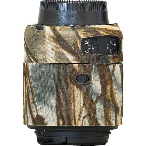 LensCoat Lens Cover for Nikon 55 - 200mm f/4-5.6 ED VR II Lens (Realtree Max4)
