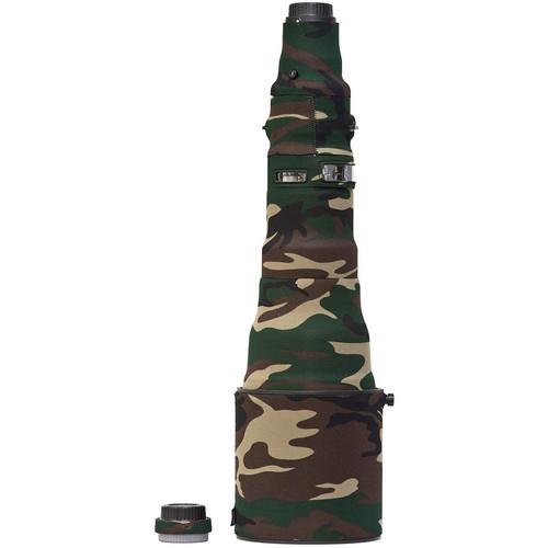 LensCoat Lens Cover for the Nikon 800mm AF-S f/5.6E FL ED VR Lens (Forest Green)