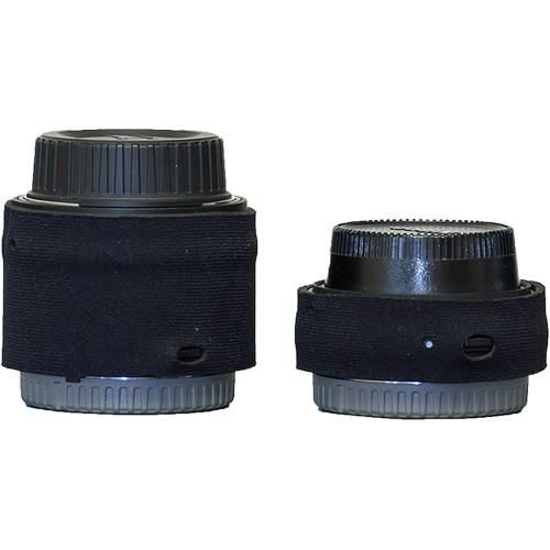 LensCoat Lens Cover for Nikon Teleconverter Set III (Black)