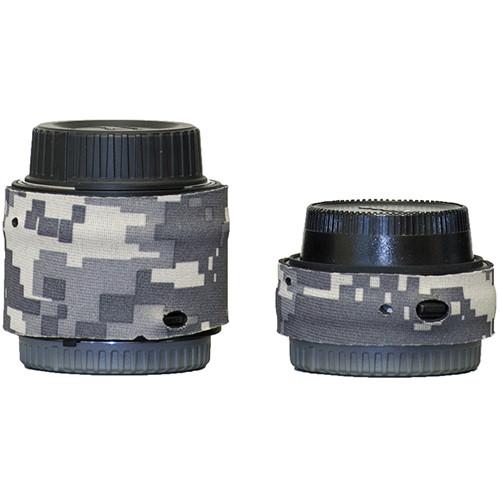 LensCoat Lens Cover for Nikon Teleconverter Set III (Digital Camo)