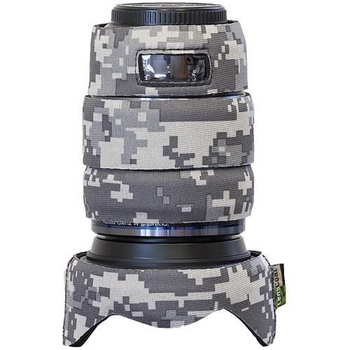 LensCoat Lens Cover for Olympus M.Zuiko 12-100mm f/4 Pro Lens (Digital Camo)