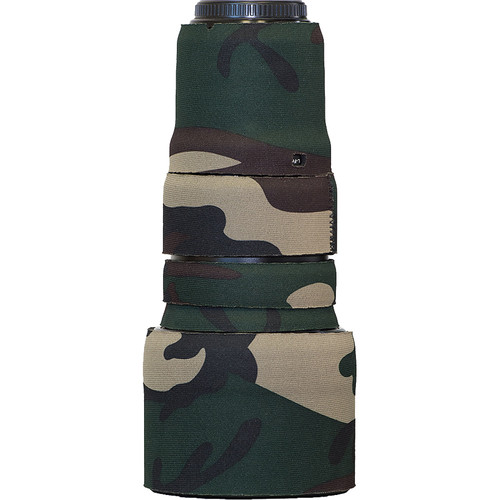 LensCoat Lens Cover for the Olympus M. Zuiko Digital ED 40-150 f/2.8 PRO Lens (Forest Green Camo)