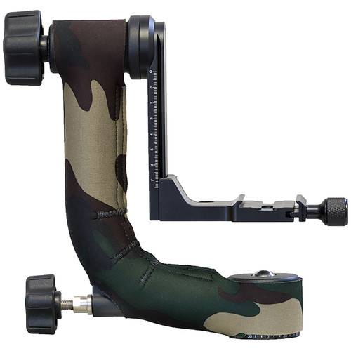 LensCoat Oben GH-30 Gimbal Head Cover (Forest Green Camo)