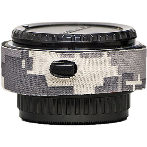 LensCoat Lens Cover for the Pentax DA 1.4 Teleconverter (Digital Camo)