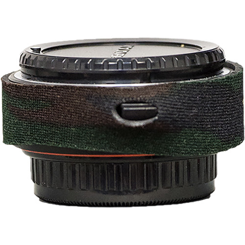 LensCoat Lens Cover for the Pentax DA 1.4 Teleconverter (Forest Green Camo)
