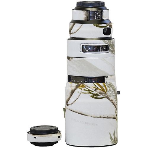 LensCoat Lens Cover for Panasonic DG 200mm f/2.8 POWER O.I.S. Lens (Realtree AP Snow)